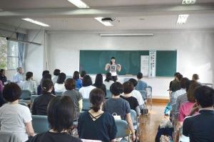 茨城県立竹園高校の家庭教育講座「美しい姿勢から、健康な体をつくる」に、講師としてお邪魔させていただきました